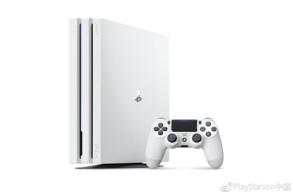 索尼PS4 Pro冰河白国行11月17日开卖 2999元
