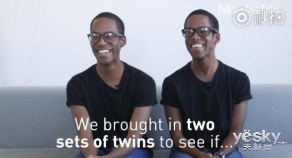 iPhone X的Face ID还是没有通过双胞胎这关