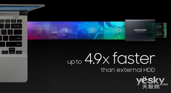 双十一超实惠 三星T5系列固态硬盘热卖