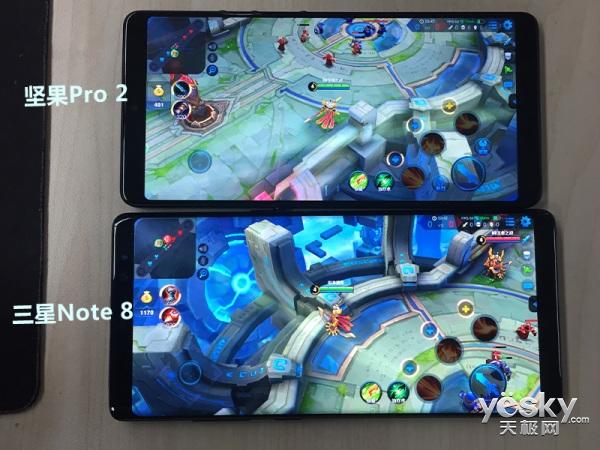 有埋伏!坚果Pro 2玩《王者荣耀》怎么样?