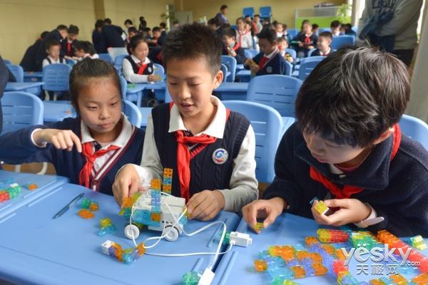 不只是玩具,索尼KOOV降临上海徐汇实验小学