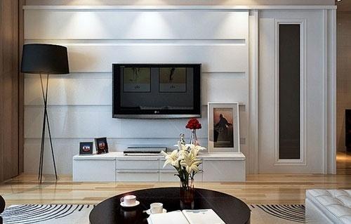 电视机应该挂墙上还是放电视柜上?