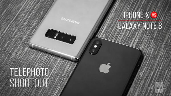 顶级长焦镜头之争:苹果iPhone X vs 三星Galaxy Note 8