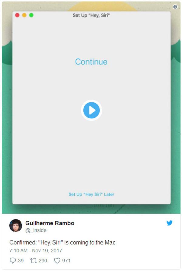 苹果新款iMac Pro可以让Siri随时待命
