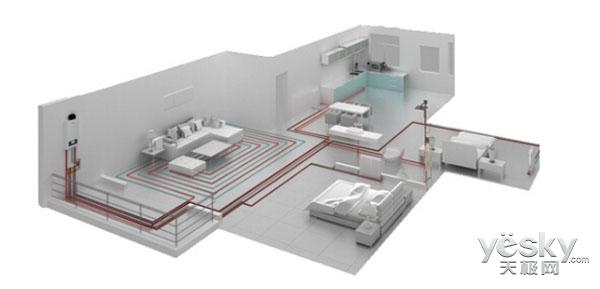 释放空间的另一类选择,壁挂炉是否可以代替热水器?