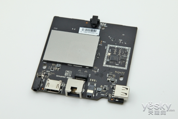 创维π盒拆解 主芯片有屏蔽保护