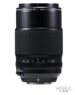 富士XF80mmF2.8 LM OIS WR Macro中长焦微距镜上市开售