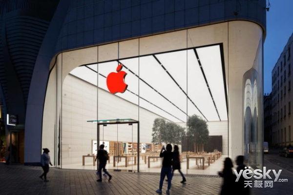 苹果艾滋病日更换全球零售店Logo/还捐款