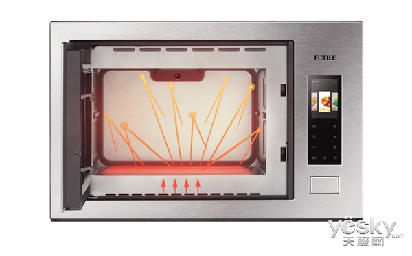 让烹饪多一度温暖 嵌入式微波炉相比传统微波炉所存在的优势