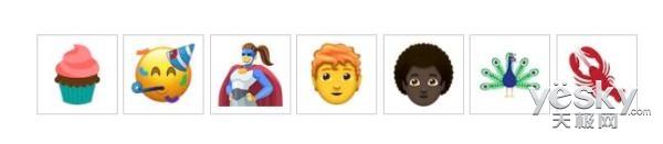 Emoji 11 beta版公布 新增130个新Emoji表情,还允许
