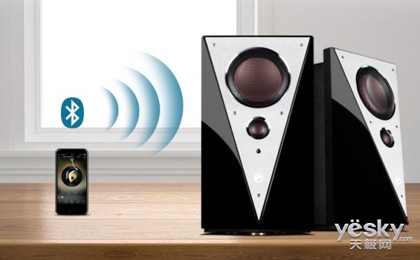 WiFi传输畅听无限 惠威HiVi T200MKII有源蓝牙音箱售价2699元