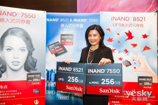西部数据推出新款iNAND嵌入式闪存盘 剑指下一代智能手机