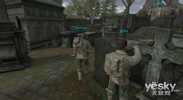 VR游戏《前线防御:英雄》用这种方式让你在虚拟世界移动