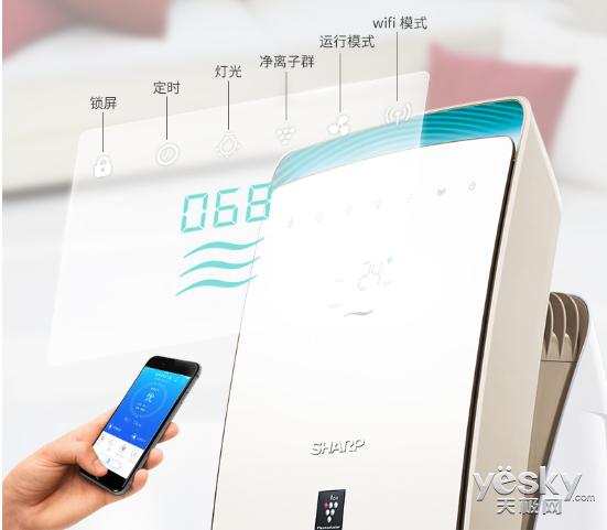 孕妈的宅家利器――夏普4K超高清智能语音电视