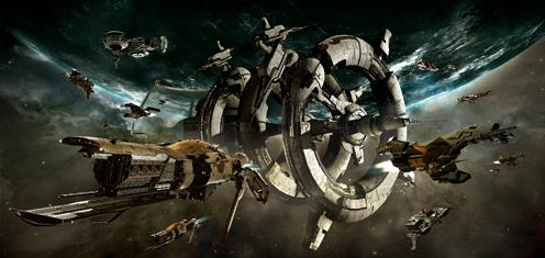 来自星空的羁绊-EVE舰船见闻录