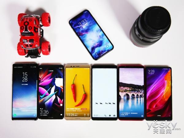 年度手机人像自拍横评:七大旗舰谁能拍出高级美?