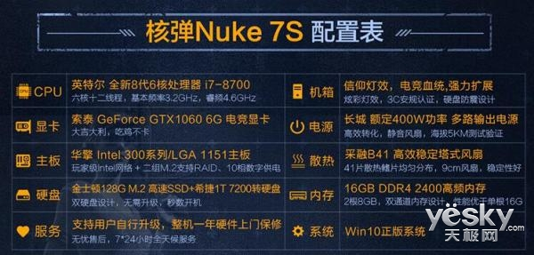 预售抢购倒计时,极限矩阵核弹Nuke 7S即将限量开抢