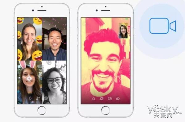 Facebook 2017大数据:Messenger视频通话数超170亿次