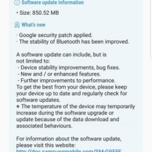 三星S8/S8+获Android Oreo Beta4更新 修复大量bug