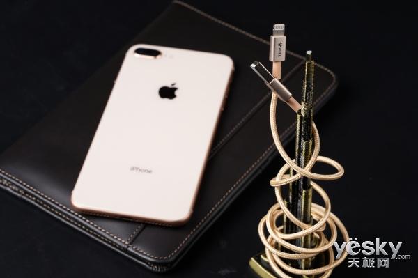 TA才是最适合iPhoneX的数据线,公牛苹果尼龙编织数据线图赏