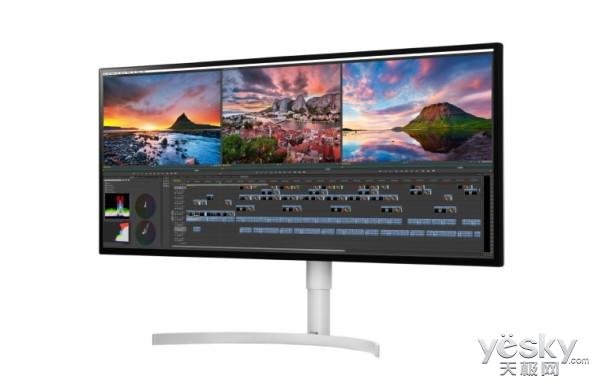 LG新款4K/5K显示器将亮相CES 2018 配备雷电3接口
