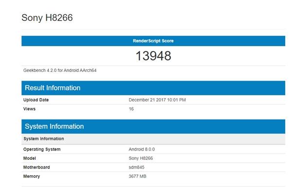高通骁龙845 GPU跑分首曝:比骁龙835提升76.6% 达13948分