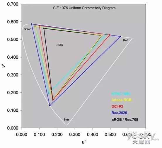 专业显示器从2千-2万,它们的差距在哪里?