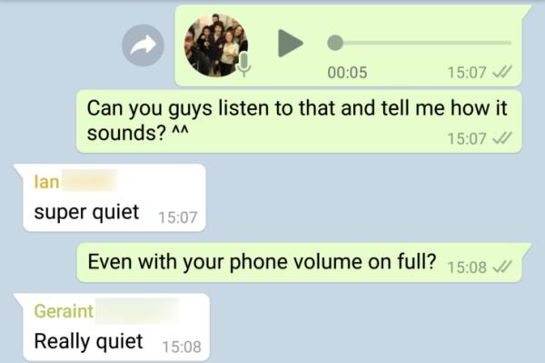 Pixel 2 XL��出问题 发送语音消息声音小得可怜