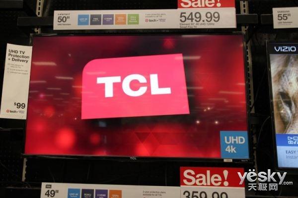 2017年销量突破400万台!TCL北美市场实现全美第三