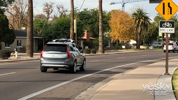 CES之偶遇Uber自动驾驶汽车 坐上去什么感觉?
