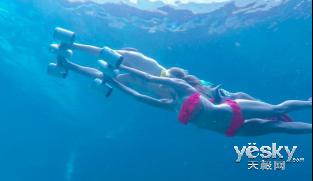 飞翔,不一定在空中――深之蓝白鲨Mix,体验尽在CES 2018