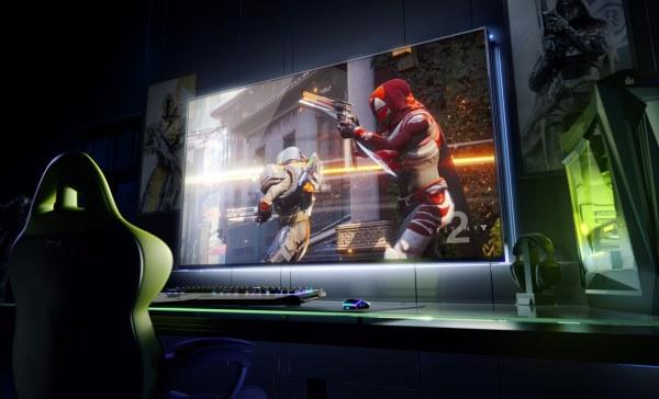 极致巨屏游戏体验 英伟达宣布65英尺4K游戏显示器