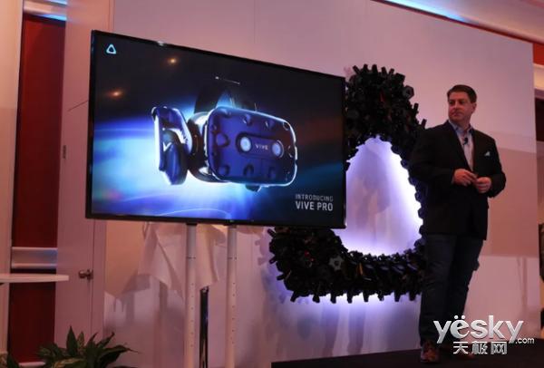 HTC Vive Pro头盔发布 谷歌整合支付服务