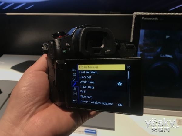 CES2018:松下专业视频相机GH5s正式发布