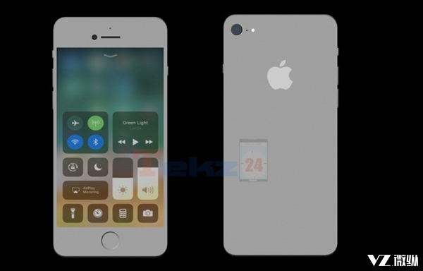 新iPhone SE外形曝光:前后双玻璃 秒杀iPhone X