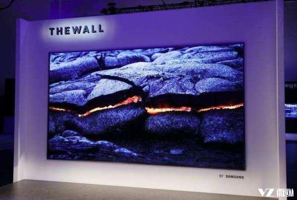8K+85英寸和146英寸的墙?三星CES 2018两款重磅电视震撼亮相