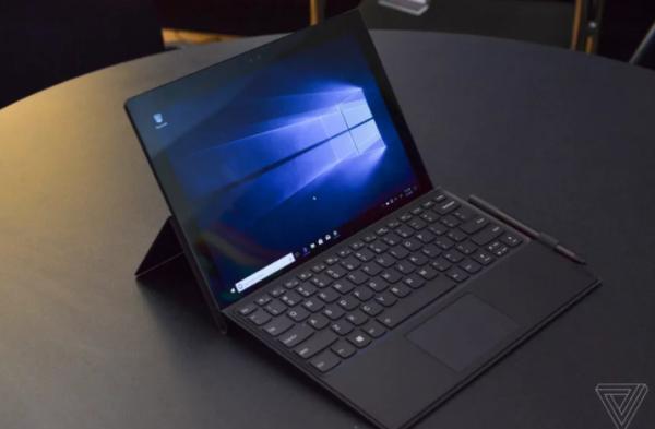 联想发布骁龙835笔电Miix 630 续航20小时 神似Surface Pro