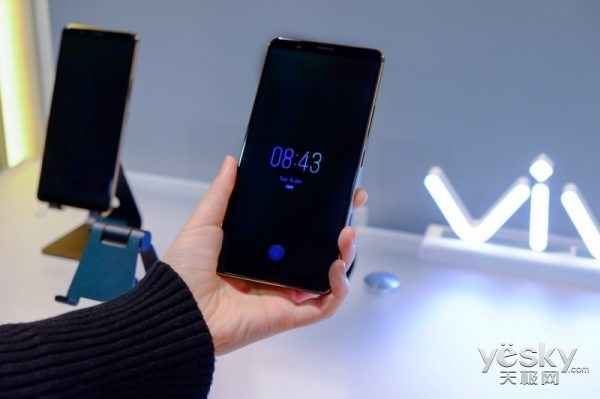 CES 2018黑科技:vivo屏下指纹手机首发 已实现量产
