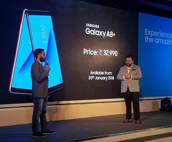 三星Galaxy A8+登陆印度市场 低配版三星S8?