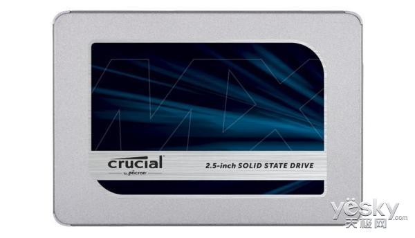 64层3D TLC NAND 英睿达发布全新 MX500固态硬盘