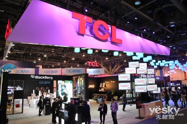 大国品牌实力 TCL携众多新品惊艳美国2018CES