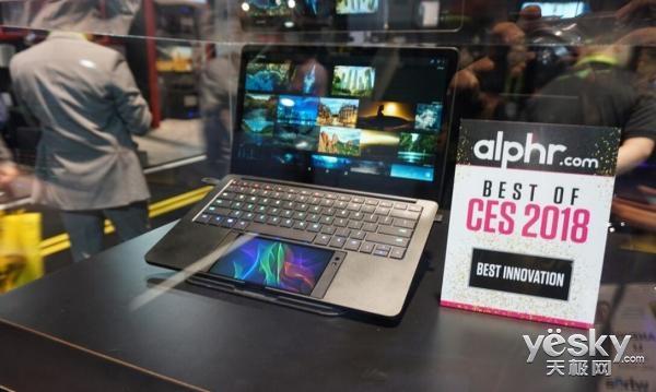 CES 2018:Razer展示让手机变成笔记本使用