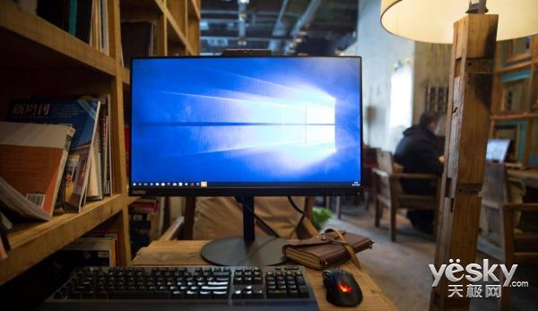 显示器竟然能刷脸 项目经理实测ThinkVision新品