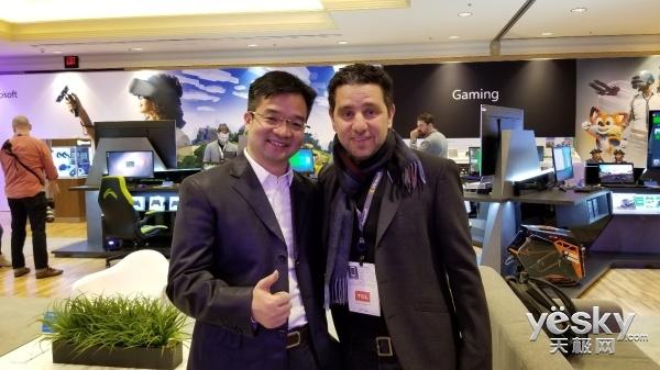 CES2018会场不只有新品,还有京东与微软的握手
