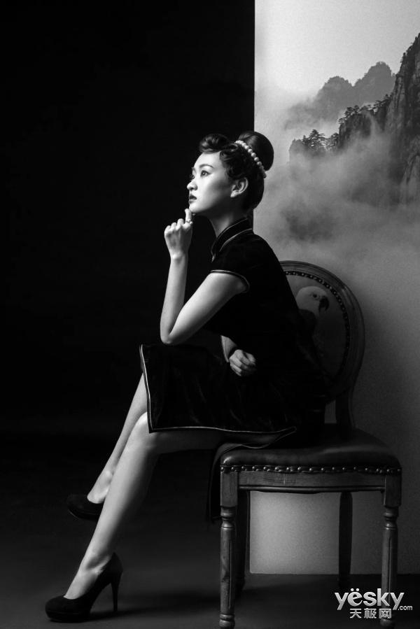 美人在骨不在皮,感受5000万像素下的典雅国风