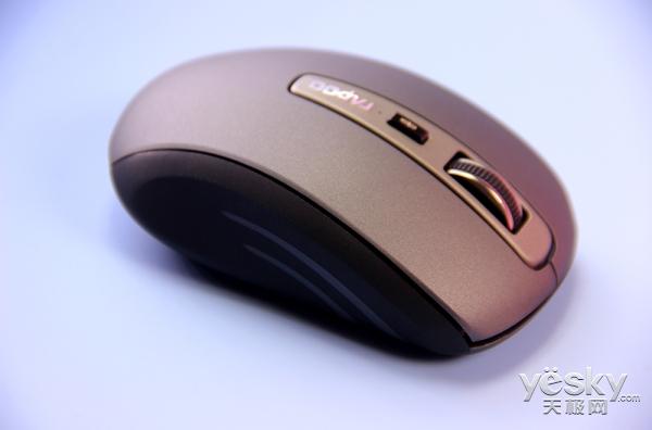 小手型人体工学设计 雷柏MT350三模无线光学鼠标给你多一种选择