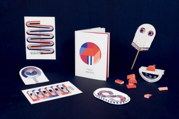 藏在书中的游乐场Papier Machine,每页纸都是一款独立的小游戏
