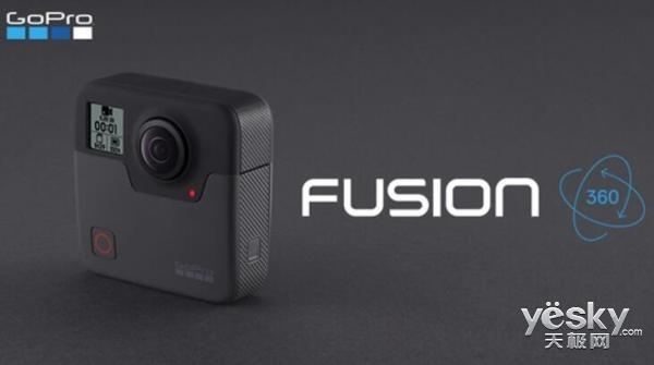 GoPro首款全景VR相机Fusion即将上市:售价5698元
