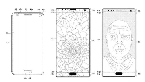 三星全面屏新专利曝光 索尼坚称不会放弃手机业务