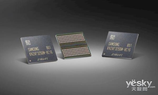 三星开始量产16Gb GDDR6内存芯片:10nm工艺/功耗降低35%